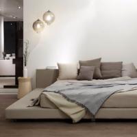 벤스 바이런 퀸 침대, 저상형침대, 패브릭소재