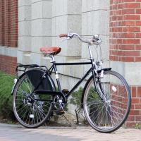 세인트 버킨  오리지널 유럽 더치바이크  남성 클래식자전거 Black