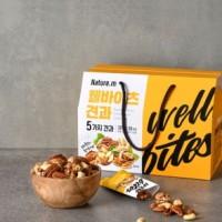 네이처엠 웰바이츠 견과 세트 2BOX (20g X 60팩) / 식이조절 식단조절 단백질 데일리 추석 명절 부모님 거래처 선물세트
