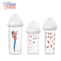 [비브롱]3개세트/아기 신생아 배앓이방지 젖병