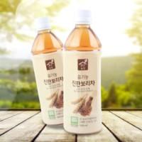 맑은농장 유기농 진한 보리차음료 1박스