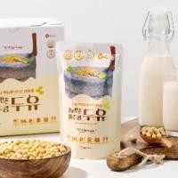 [맷돌방식] NON-GMO 100% 무첨가 제주콩두유 30팩 무가당 임산부 검은콩 약콩두유 하루견과유