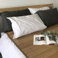 [6종] 천연 대나무 여름 러그 장판, 방바닥 거실 침대 위 깔개 돗자리 댓자리