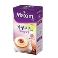 [대량구매] 맥심 카페 카푸치노 헤이즐넛 10T x 12개