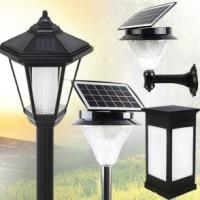 태양광 LED 정원등 태양열 육각등 전등 벽등