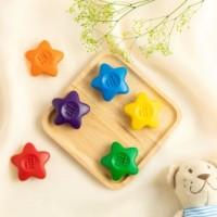 돌아기 색연필 초콜릿 크레용 6색 12색 무독성 손에안묻는 아기크레파스 어린이집 생일선물