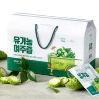 20년 유기농 햇 여주즙 60팩 / 실속형