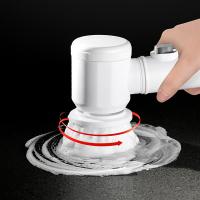 깔끔대장 강력한 자동 전동솔 타일 화장실청소솔