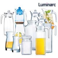 1+1 루미낙 유리 물병 냉장고 물통 업소용
