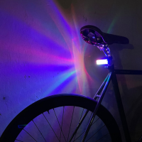 후오 오로라 자전거 후미등 감성 라이트 화려한 특별한 변환