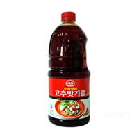 실온 사조 해표 요리 고추 맛 기름 1.8L 씨 불맛 향미유 업소용 식자재 도매 유통