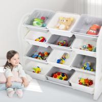 봄키즈 장난감 정리함 바구니 아기 레고 수납장 유아 정리대 아이방 이케아 토이박스 보관함