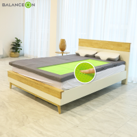 [밸런스온] 슈퍼싱글 퀸 침대, 바닥