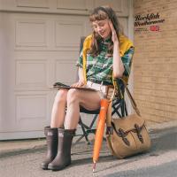 락피쉬 레인부츠 숏 여자여성 패션장화 3cm