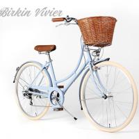 자이크 버킨비비에 여성 클래식자전거5color