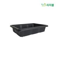 REAL 친환경 R4 사각용기 1박스 400개입 볶음밥 도시락 만두 볶음요리 중식일회용기
