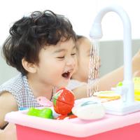 물 나오는 리얼 러블리 싱크대 장난감 주방놀이 유아 어린이 소꿉놀이