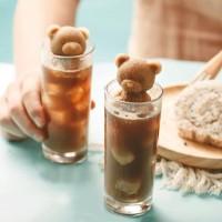 홈카페 실리콘 곰돌이 얼음틀 오리 장미 고래 얼음트레이
