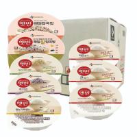 CJ 햇반 200g 24개 36개 큰공기 작은공기 현미밥 흑미밥 잡곡밥 찰잡곡밥 쌀눈가득쌀밥