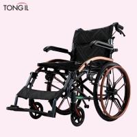 수동휠체어 스마트 휠체어 프리미엄 접이식 알루미늄 경량 휴대용 Q05LAJ-20