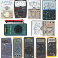 전류 전압 저항 접지 전기 테스터기 디지털 아날로그 멀티 메가 ( 국산 )