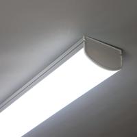 LED 주차장등 일자등 창고 조명 매장 와이드 주방 KS 국산 센서