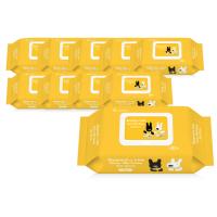 가스파드와리사 클린물티슈 80매 x 10팩