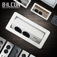 빌콘 가구매입콘센트 매립형 USB회전 매입