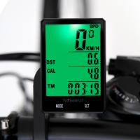 홈리드 대형스크린 무선 자전거 속도계 백라이트