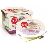 [CJ제일제당] 햇반 흑미밥 210g 24개