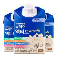 뉴케어 액티브 프레소 골든밸런스 대상웰라이프 시니어 프로피 단백질 커피맛 하이 프로틴
