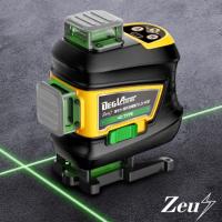 ZEUS 제우스 3D 4D 3단계 밝기 조절 그린 레이저 레벨기 LS-3GF LS-3GFB LS-4GF 레이져레벨