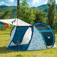 버팔로 메가 유니크 원터치 팝업 텐트