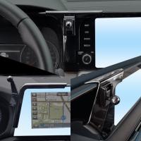 렉스탑 쏘렌토MQ4 그랜저IG 팰리세이드 전용 하이그로시 차량용 핸드폰 휴대폰 거치대 15W 고속 무선충전기 FOD반응센서