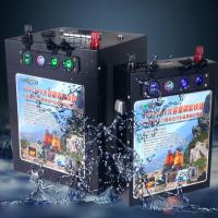 인산철 대용량 배터리 12V400AH(이퀄라이져+밸런스단자+적산계 장착)고속 충전기50A