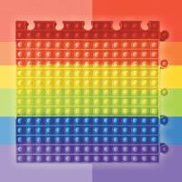 리틀토머스 특대형 퍼즐 푸쉬팝 KC인증 30cm 60cm 팝잇 뽁뽁이 장난감 몰펀블럭 증정