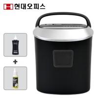 사무용 가정용 문서세단기 PK-1025CD Silver/White 12매 25L/카드 CD 파쇄기 + 세단기오일+정전기스프레이