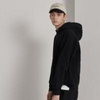 남자 후드 티셔츠 브라운,블랙,차콜그레이 색상