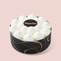 [하겐다즈] 아이스크림 케이크 NEW 미니블랑 (바닐라+벨지안초코)
