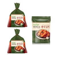 비비고 포기배추 김치 1.8kg 2개+총각김치