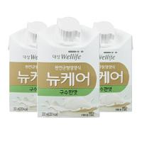 뉴케어 구수한 맛 200ml 30팩(캔x) 환자식 환자 영양식 아침 식사대용 유동식 식사대용식