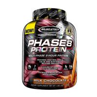 머슬테크 페이즈8 초코 맛 보충제 대용량 MuscleTech Phase 8 Protein Powder 4.6lbs 2.09kg
