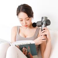 멜킨 어썸 마사지건 진동 마사지기 무선 전동 휴대용 안마기 어깨 종아리 허벅지 목 승모근