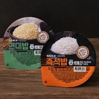 네이처엠 즉석밥 180g X 24개 / 현미 전자레인지 집밥 여행용