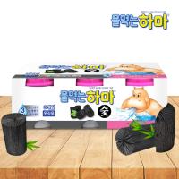 물먹는하마 참숯 제습제 3개입 / 습기제거 냄새방지 곰팡이제거 옷장용 신발장 서랍