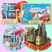 여행 마그넷 세계 기념품 마그네틱
