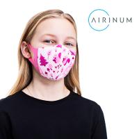 에어리넘 필터 교체형 패션 프리미엄 마스크- 라이트 키즈 와일드 핑크-항균 스웨덴 디자인 명품 면 패브릭 숨쉬기편한 자외선차단 어린이 유아 귀편한 귀안아픈 세탁가능 시원한 여름