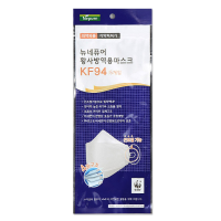 네퓨어 KF94마스크 대형국산 비말차단 60매