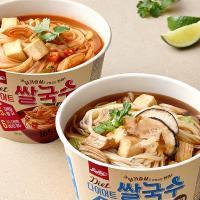 맛있닭 저칼로리 쌀국수 6팩/다이어트 컵라면