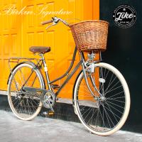 시그니처 버킨 더치 클래식 바구니 여성용자전거